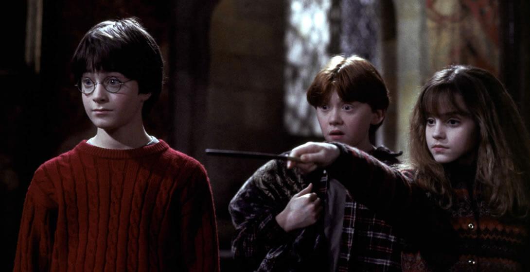 Гарри Поттер 1: Философский камень (кадр из фильма) / Harry Potter and the sorcerer's stone