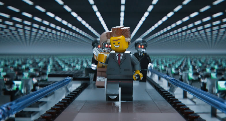 Лего. Фильм (кадр из фильма) / The Lego movie