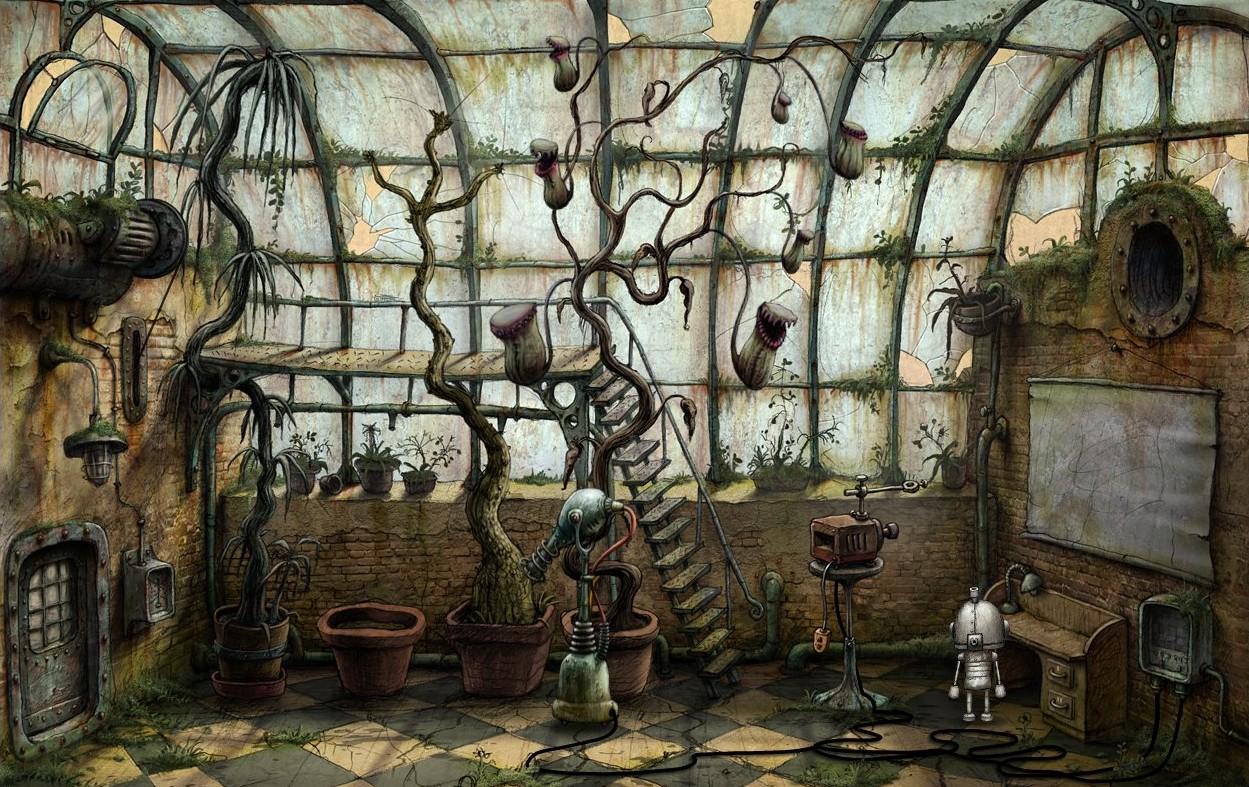 Машинариум (кадр из игры) / Machinarium