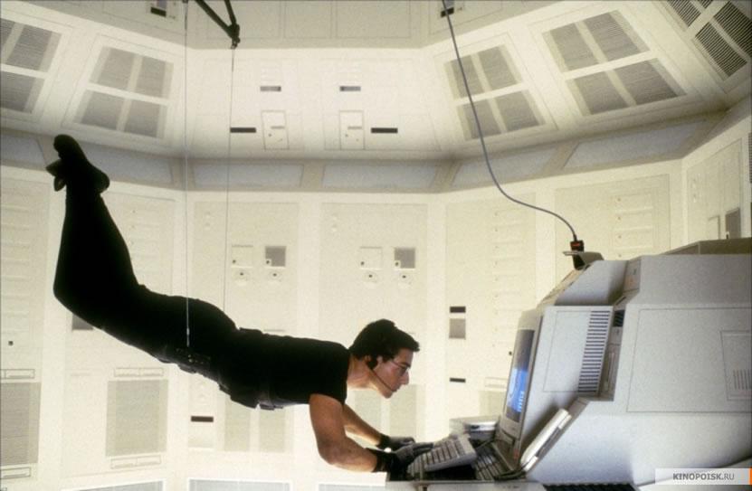 Миссия невыполнима 1 (кадр из фильма) / Mission: Impossible