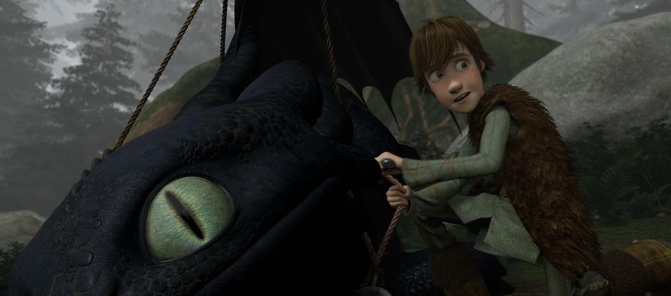 Как приручить дракона 1 (кадр из фильма) / How to train your dragon