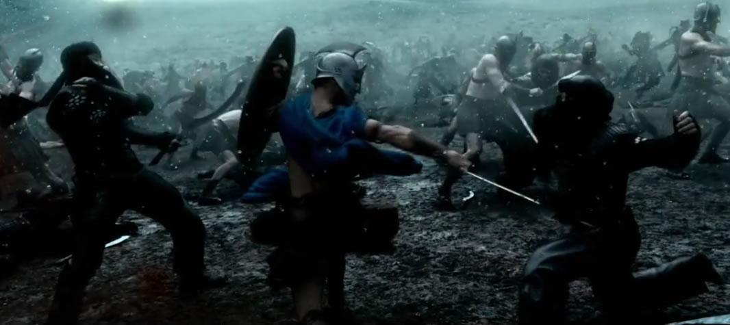 300 спартанцев: Расцвет империи (кадр из фильма) / 300: Rise of an Empire