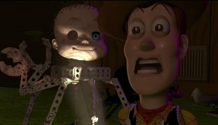 История игрушек (кадр из фильма) / Toy story