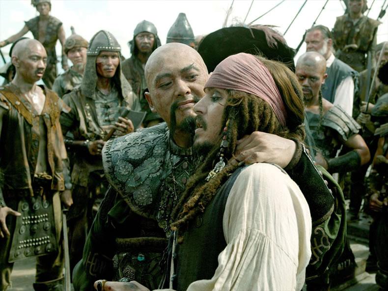 Пираты карибского моря: На краю света (кадр из фильма) / Pirates of the Caribbean: At world's end