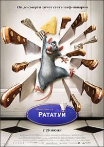 Плакат: Рататуй / Ratatouille