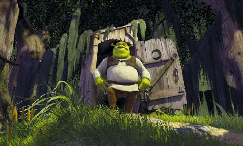 Шрек (кадр из фильма) / Shrek
