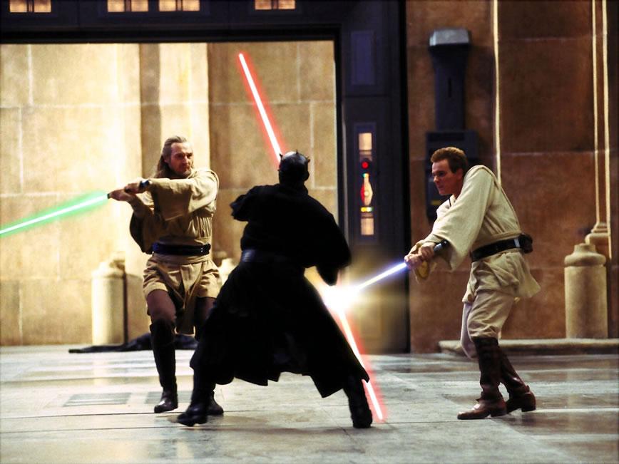 Звёздные войны: Скрытая угроза (кадр из фильма) / Star Wars: Episode I - The Phantom Menace