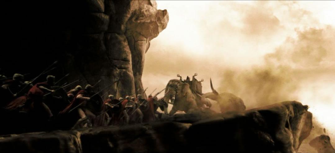 300 спартанцев (кадр из фильма)