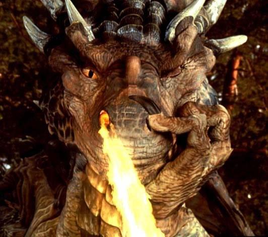 Сердце дракона (кадр из фильма) / Dragonheart