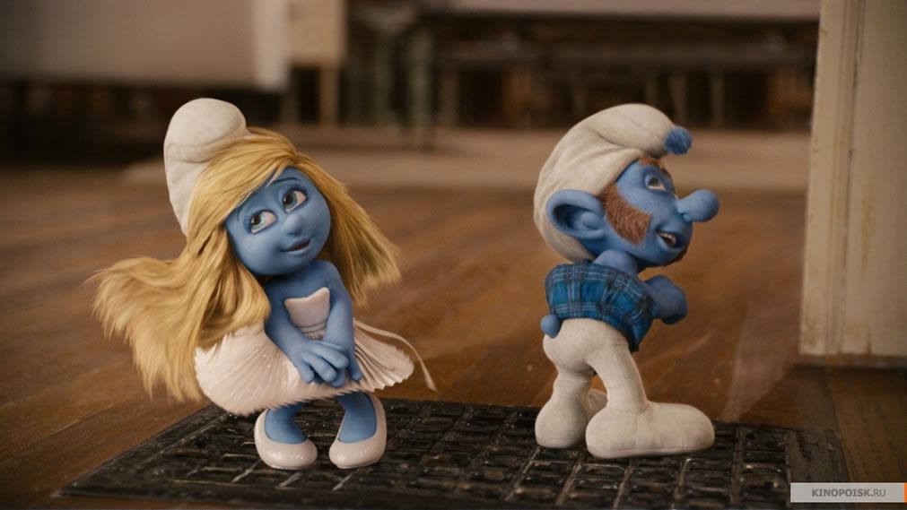 Смурфики (кадр из фильма) / The Smurfs