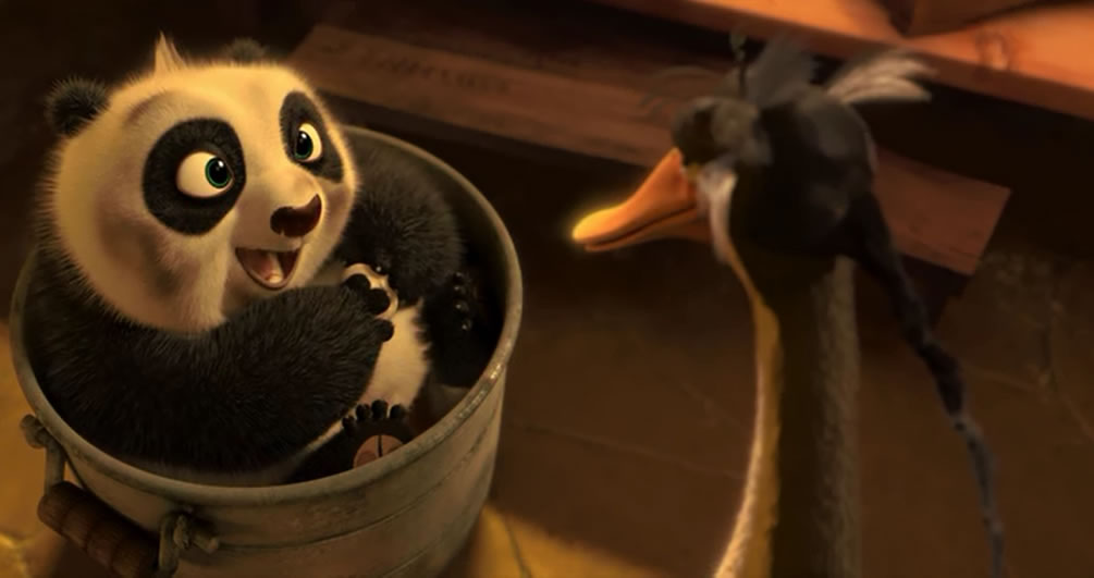 Кунг фу Панда 2 / Kung fu panda 2 (кадр из мультфильма)