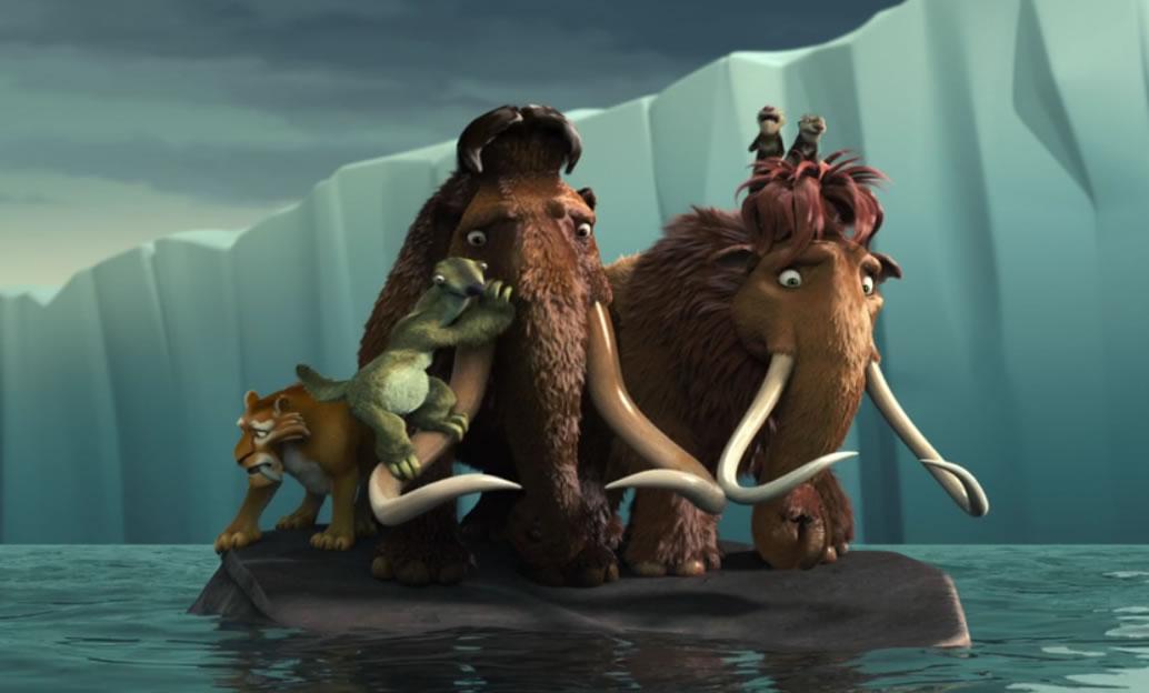 Ледниковый период 2: Глобальное потепление / Ice age 2: The meltdown (кадр из мультфильма)