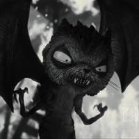 Монстр из мультфильма Франкенвини