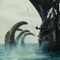 Монстр из фильма Пираты карибского моря 2