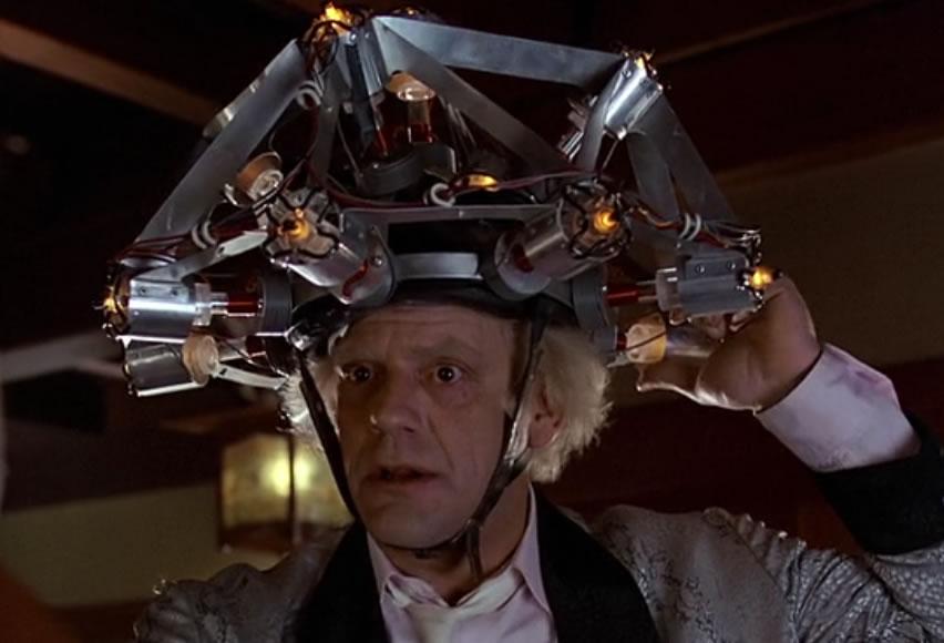 Назад в будущее 1 (кадр из фильма) / Back to the Future Part I