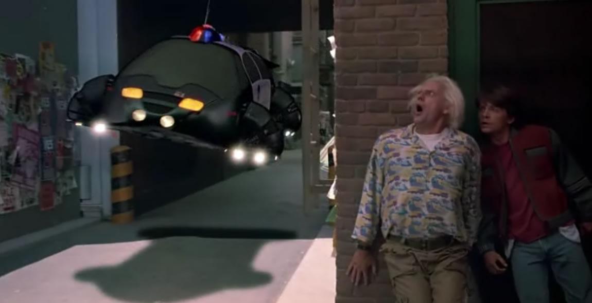 Назад в будущее 2 (кадр из фильма) / Back to the Future Part II
