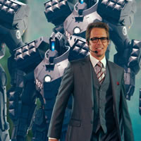 Роботы из фильма Железный Человек 2