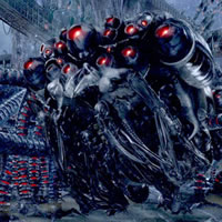 Робот-спрут из фильма Матрица