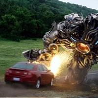 Злой робот из Трансформеров