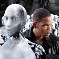 Робот из фильма Я-робот