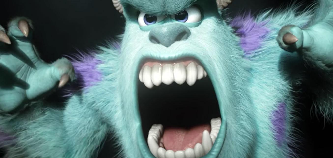 Университет монстров (кадр из фильма) / Monsters University
