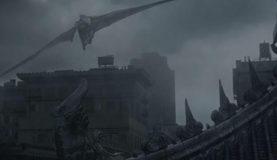 Gozilla / Годзилла 2014 (кадр из фильма)