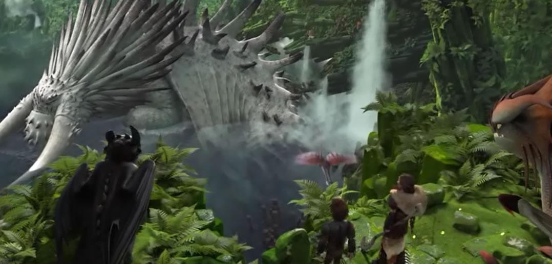 How to train your dragon 2 / Как приручить дракона 2 (кадр из мультфильма)