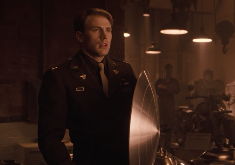 Captain America: The First Avenger / Первый мститель 2011 (кадр из фильма)