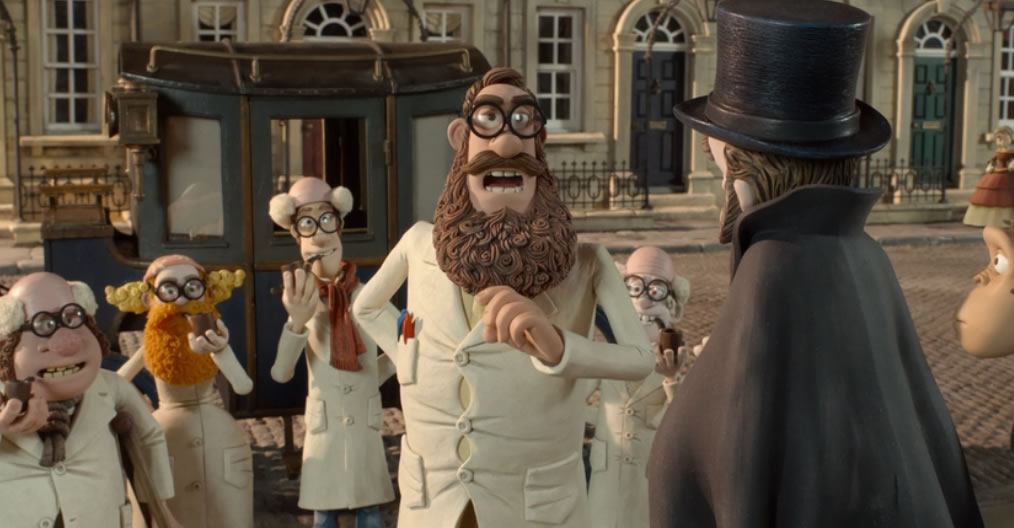 Пираты банда неудачников / The Pirates! In an Adventure with Scientists! (кадр из мультфильма)