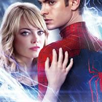Человек паук с девушкой
