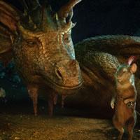 Мальчик-дракон из Хроник Нарнии
