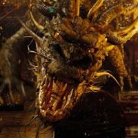 Дракон-чародей из фильма Ученик Чародея