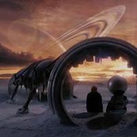Путешествие в портал из фильма Автостопом по галактике