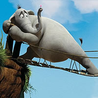 Слон хортон ищет приключений на свой зад