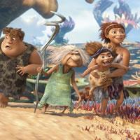 Путешествие семьи доисторических людей