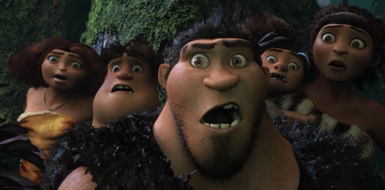 Семейка Крудс / The Croods (кадр из мультфильма)