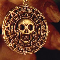 Ацтекское золото из Пиратов Карибского Моря