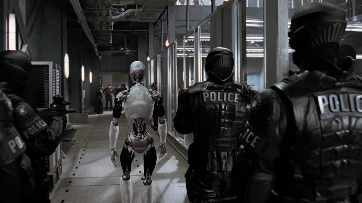 Я робот / I robot (кадр из фильма)