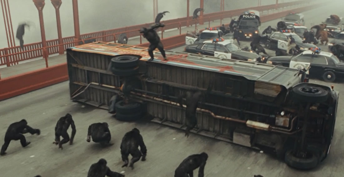 Восстание планеты обезьян / Rise of the Planet of the Apes (кадр из фильма)