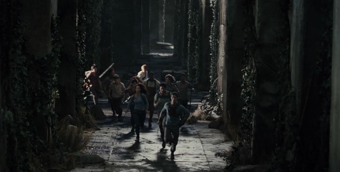 Бегущий в лабиринте / The maze runner (кадр из фильма)