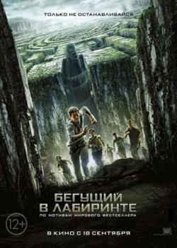 Бегущий в лабиринте / The maze runner (плакат)