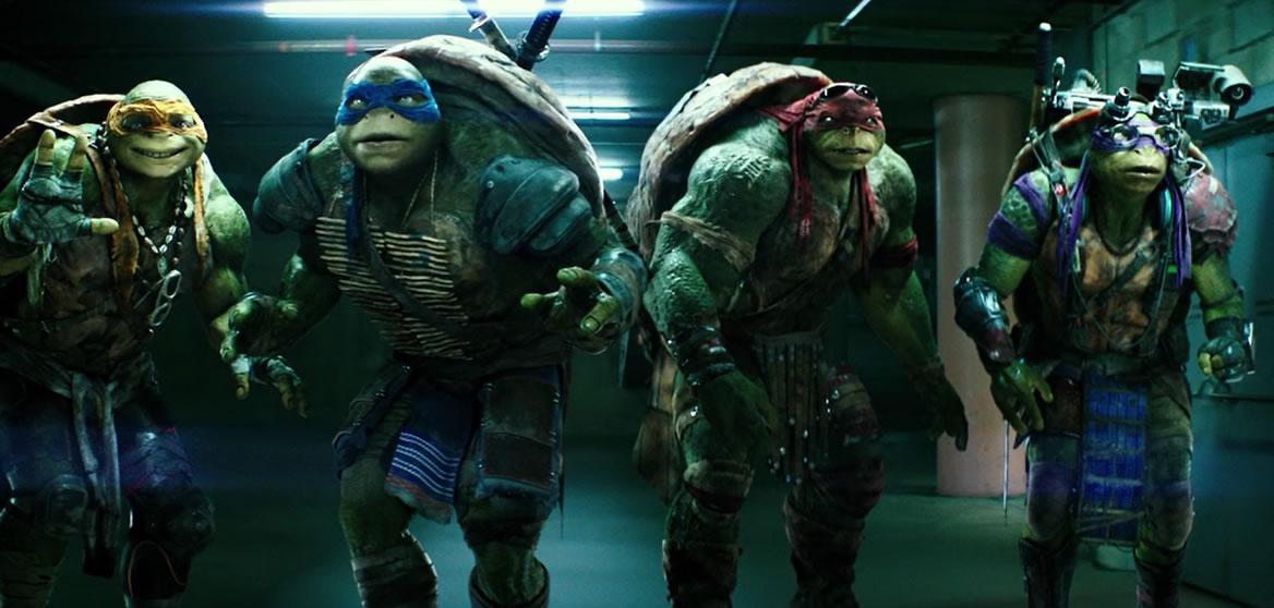 Teenage Mutant Ninja Turtles / Черепашки нинзя (кадр из фильма)