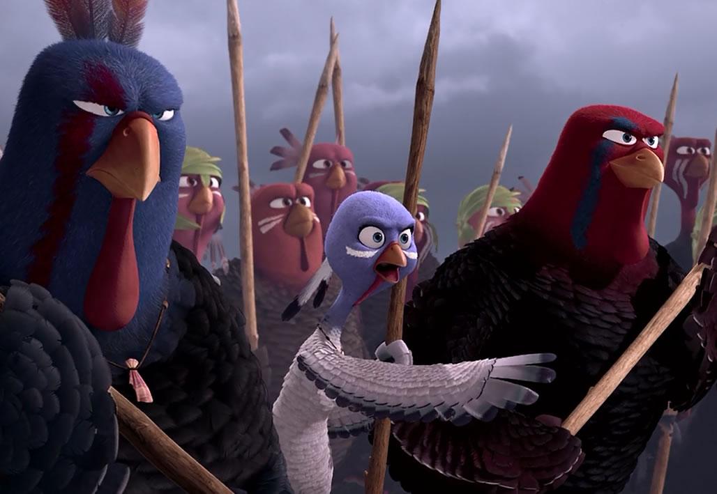 Индюки: Назад в будущее / Free Birds (кадр из мультфильма)