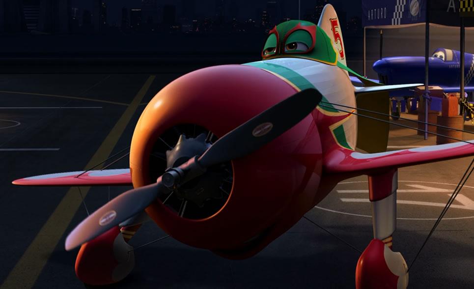 Самолёты / Planes (кадр из мультфильма)