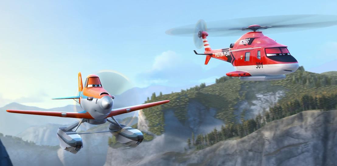 Самолёты 2: Огонь и вода / Planes: Fire and Rescue (кадр из мультфильма)