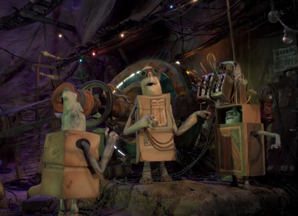 Семейка монстров / The Boxtrolls (кадр из мультфильма)