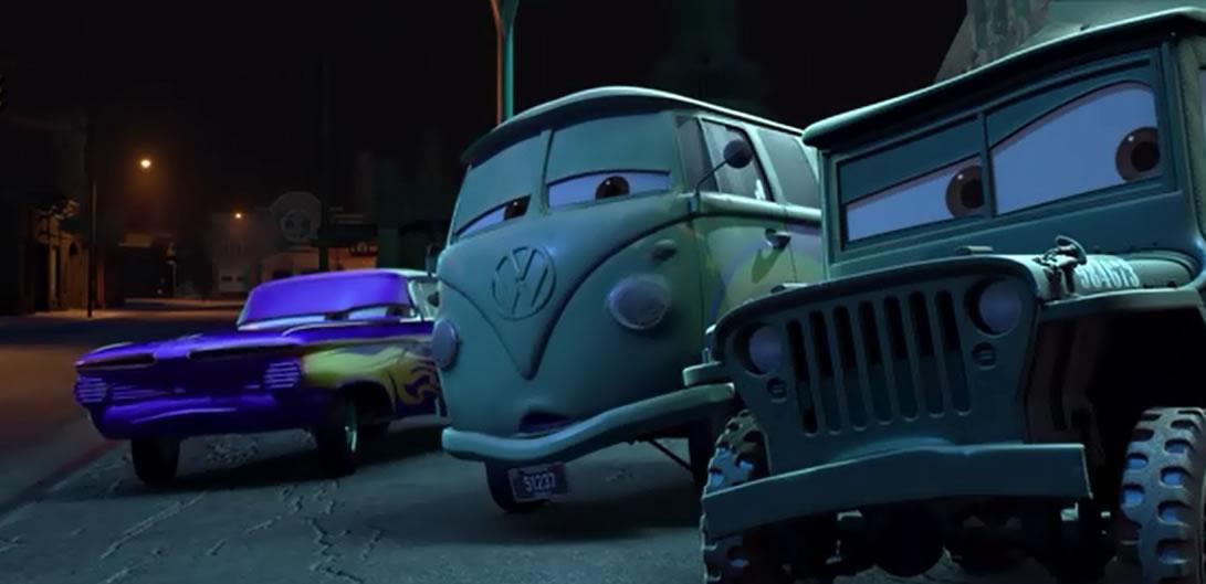 Тачки 1 / Cars (кадр из мультфильма)