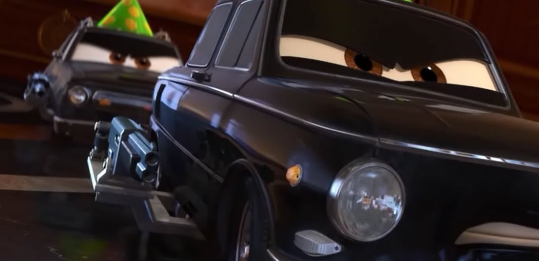 Тачки 2 / Cars 2 (кадр из мультфильма)