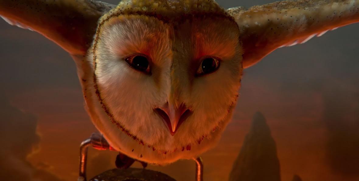 Legend of the Guardians: The Owls of Ga'Hoole / Легенды ночных стражей (кадр из мультфильма)