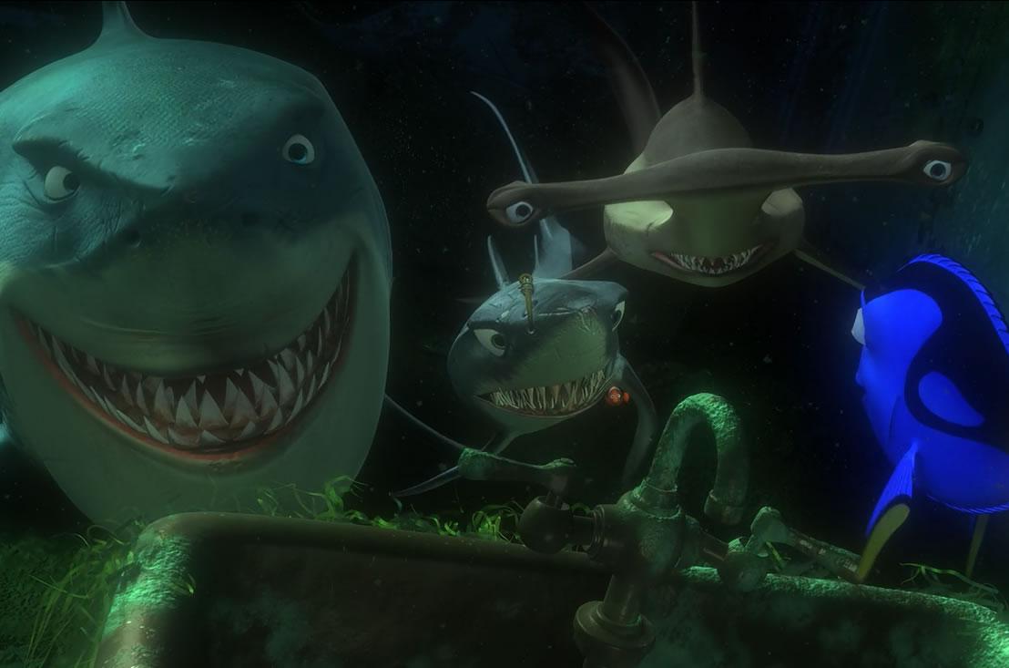 В поисках Немо / Finding Nemo (кадр из мультфильма)